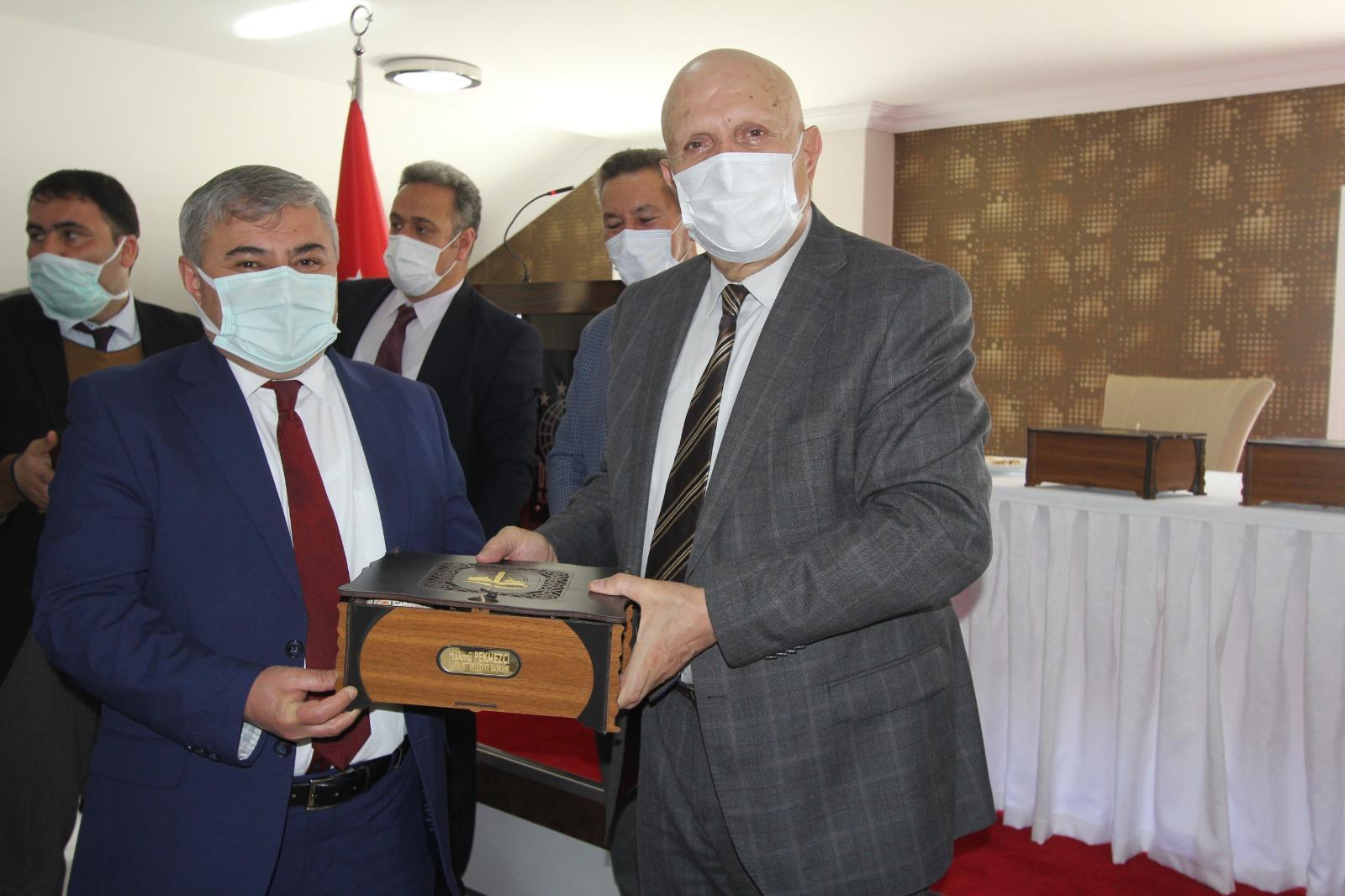 Mart ayı Yerel Yönetimleri Katı Atık Birliği meclis toplantısı yapıldı. -
