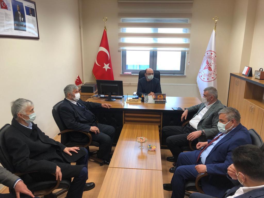 AK Parti Gümüşhane  Milletvekili sayın Cihan Pektaş'tan Başkanımız Şen'e ziyaret -