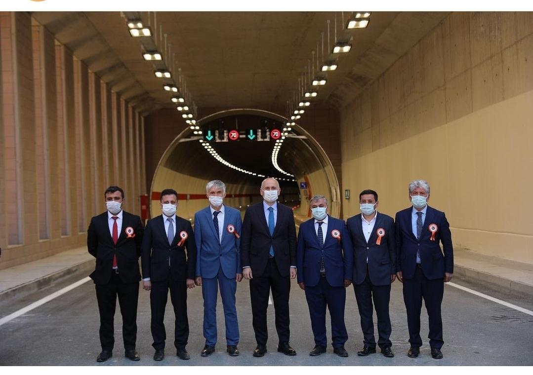 Başkan Şen Kürtün Kavşağı Açlışına Katıldı... -